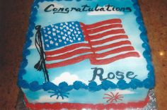 A cake for a new citizen.  Ann Lowenthal