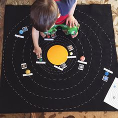 The Kavanaugh Report: DIY Solar System Map with Free Printables
