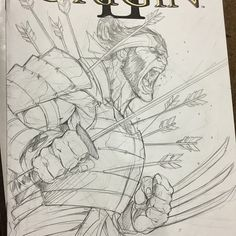 "1,621 Likes, 19 Comments - Vince Sunico (@vinsun316) on Instagram: ""Samurai Logan commish Sketch cover at Calgary Expo - #samurai #samurailogan #wolverine #xmen…"""