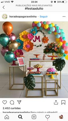25 Balloon Ideas For Party 25 Ballon-Ideen für Party Flamingo Party, Flamingo Birthday, Balloon Decorations, Birthday Party Decorations, Baby Shower Decorations, Birthday Parties, Balloon Ideas, Decoration Evenementielle, Teen Decor