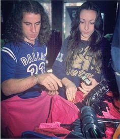 Klaus und Gabi Meine. 1979.