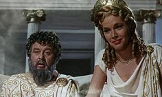 #Honor_Blackman as the goddess Hera in Jason and the Argonauts