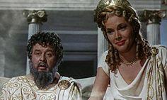 #Honor_Blackman as the goddess Hera in Jason and the Argonauts