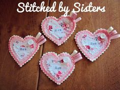 Handmade hen party Hen Do Badges by StitchedbySistersuk on Etsy