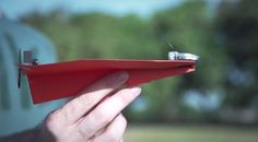 PowerUp 3.0 Is A Bluetooth Module That Turns A Paper Plane Into A Lean, Mean App-Controlled Flying Machine   TechCrunch