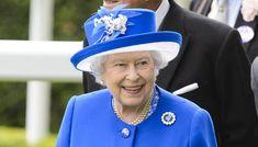 La reina Isabel II durante un acto oficial.