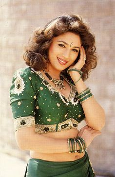 Gorgeous Madhuri Dixit dancing queen