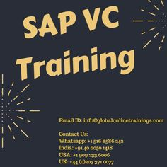 SAP VC Training is helpful to have a chance that you have extensive number to combine of parts that go into a product. Straightforward it implies diverse stages and mixes of the parts of a similar material. Variation Configuration encourages the salesman to assemble the particular for the product, with the goal that the product can be created from these determinations. Our expert consultants will guide you through the displaying for ideal solutions.