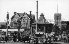 History in Pictures is a database of images recording themed, social, and topographical street views and events of many British & Worldwide cities, towns and villages. Vintage London, Old London, Enfield Middlesex, Enfield Town, My Ancestors, Pictures Of You, Old Photos, Childhood, Street View