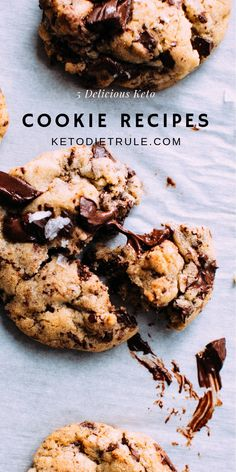 Best 5 keto low-carb cookie recipes you have to try. Best 5 keto low-carb cookie recipes you have to try. Low Sugar Recipes, Low Carb Dinner Recipes, Low Carb Desserts, Keto Recipes, Snack Recipes, Dessert Recipes, Brunch Recipes, Dessert Ideas, Cream Cheeses
