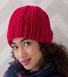 How To Make How To Make A Ridged Crochet Hat Online | JOANN Bonnet Crochet, Crochet Beanie Hat, Crochet Baby, Knitted Hats, Knit Crochet, Afghan Crochet, Crochet Stitches, Ravelry, Crochet Gratis