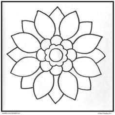 find this pin and more on desenhos simple mandala coloring pages printable - Kids Printable Colouring Pages
