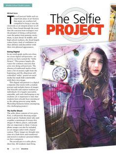 The Selfie Project Page 1 SchoolArts Magazine - APR 2014