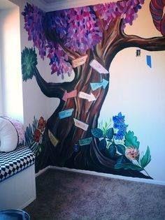 Alice In Wonderland Bedroom Wall Mural Ideas Alice In Wonderland Bedroom Alice In Wonderland Room Alice In Wonderland Paintings
