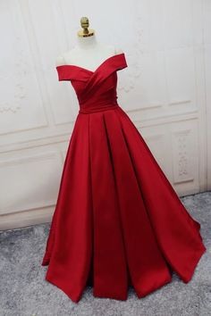 Charming Prom Dress, A Line Prom Dress,Dark Red Evening Dress,Formal Evening Dresses ,Women Dress,250