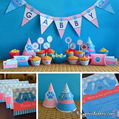 Pink Blues Clues Party Printables For Girls. $19.95, via Etsy.