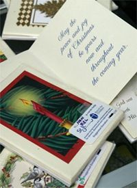 Recycle christmas cards for next year i did this in college will st judes recycled card program for old greeting cards m4hsunfo