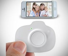iSnapx Wireless Shutter Remote Control - #Gadgets #Tech #Selfie #Cool | CoolShitiBuy.com