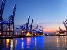 Blue Port Hamburg 2014, Light-up