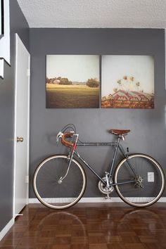 decoração parede cinza - Pesquisa Google