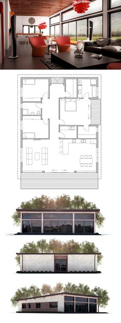 Simple Modern House Plan