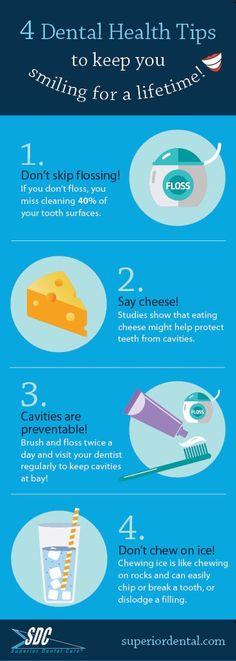 Dental health tips, superior dental care, oral health, oral tips, teeth tips #dentalcaredeerfield #dentalfacts