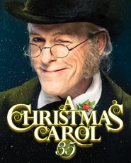 A Christmas Carol at the Goodman Theatre Chicago.