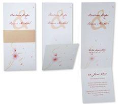 Einladungskarten-Hochzeit+-+Zarte+Blümchen Place Cards, Place Card Holders, Inspiration, Paper, Bunting Bag, Card Wedding, Biblical Inspiration, Inspirational, Inhalation