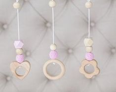 Wooden baby gym, no hangers, only frame + three wooden rings Baby Gym, Etsy, Hangers, Kids, Baby Toys, Favorite Color, Pendants, Activities, Hand Made