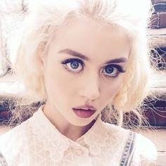 allison harvard instagram - Поиск в Google Silver Hair Tumblr, Luna Lovegood Aesthetic, Allison Harvard, Light Curls, America's Next Top Model, Ulzzang Girl, Pretty People, Supermodels, Blonde Hair