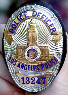 LAPD Police Officer badge  ....One day. Eyes on the prize...and this is the prize.