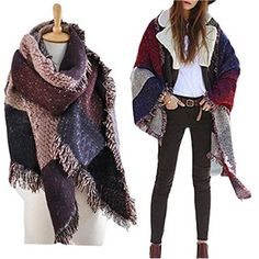 a7d18a94056 Patchwork Oversized Scarf By Vincenza. Marcus Emporium