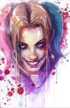 Harley Quinn by VVernacatola.deviantart.com on @DeviantArt - More at https://pinterest.com/supergirlsart/ #dc #comics #fanart