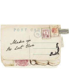 Through the Post Clutch ❤ liked on Polyvore