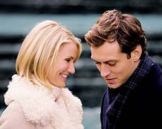 Still of Cameron Diaz and Jude Law in The Holiday