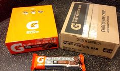 Gatorade Recover #Whey #Protein Bar Chocolate Chip Meal Replacement FREE SHIPPING #IIFYM #nutrition
