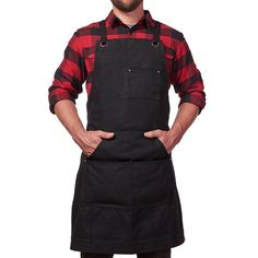 Hudson Durable Goods - Heavy Duty Waxed Canvas Work Apron with Tool Pockets (Black), Cross-Back Straps & Adjustable M to XXL Why buy a consumable product Cheap Aprons, Aprons For Men, Cheap Hobbies, Hobbies For Men, Tool Apron, Tool Tattoo, Work Aprons, Woodworking Apron, Woodworking Tools