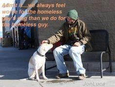 Homeless Guy's Dog