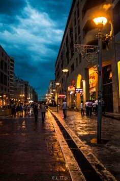 Night in Yerevan, Armenia