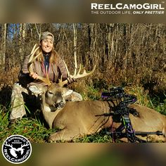 Bowhunting Whitetail in Ohio — Reel Camo Girl White Tail, Next Chapter, Deer Hunting, Outdoor Life, How To Take Photos, Ohio, Animals, Outdoor Living, Animaux