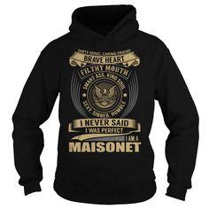 MAISONET Last Name, Surname T-Shirt
