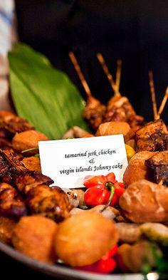 CateringCC - Catered Tamarind Jerk Chicken and Virgin Island Johnny Cake Catering Menu, Catering Services, Wedding Catering, Catering Ideas, Wedding Appetizers, Food Fantasy, Jerk Chicken, Boynton Beach, Tamarind