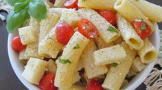 The dynamic trio of fresh basil pesto, mozzarella cheese, and juicy tomato are reunited once again in an American favorite--the pasta salad.