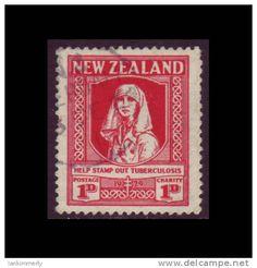 1929 New Zealand Nurse Tribute postage stamp