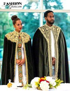 Fashion Ghana Magazine | Ethiopian Bride & Groom