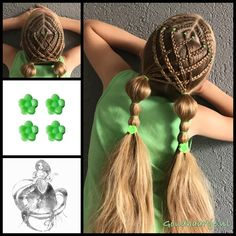 French braids into a weave of regular braids and pigtails with lovely hairclips from the webshop www.goudhaartje.nl (see link in bio, worldwide shipping). Hairstyle inspired by: @toddlerhairideas and @little_princess_hairstyle (instagram) #pigtails #hairclip #hair #haar #vlecht #vlechten #hairclip #hairstyle #braid #braids #hairstylesforgirls #beautifulhair #gorgeoushair #stunninghair #hairaccessories #hairinspo #amazinghair #hairfashion #hairart #braidideas #goudhaartje
