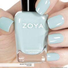 Not quite blue, not quite green, not quite grey, this Zoya Nail Polish color is so COOL!