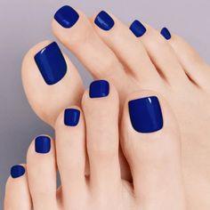 Blue Toe Nails, Gel Toe Nails, Pretty Toe Nails, Gel Toes, Pretty Toes, Nice Toes, Beautiful Gorgeous, Glitter Pedicure, Pedicure Colors