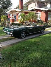 Ford : Mustang Pony Package 1966 ford mustang convertible 6 cylinder