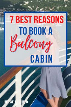 Are balcony cabins worth it on a cruise? We go through 7 reasons why you won't regret a balcony on your cruise vacation. #cruise #cruisetips #cruising